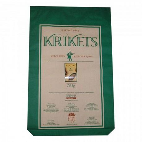 Trávne osivo KRIKETS REVITAL, 10kg